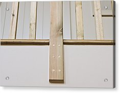 Wooden Bannister Acrylic Print
