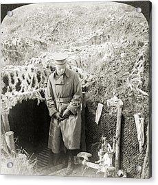 World War I Aisne, 1917 Acrylic Print