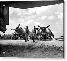 World War II: Okinawa Acrylic Print