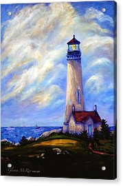 Yaquina Head Lighthouse Oregon Acrylic Print