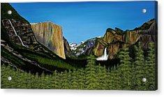 Yosemite Acrylic Print by Clinton Cheatham