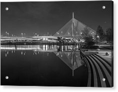 Zakim In Black And White Acrylic Print