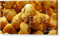 Acrylic Print featuring the photograph Zeppoli by Lilliana Mendez