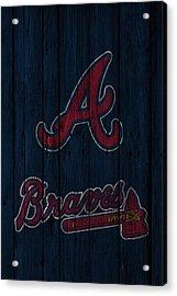Atlanta Braves Acrylic Print by Joe Hamilton