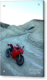 20 Mule Team Canyon Acrylic Print by AntiHero Panigale