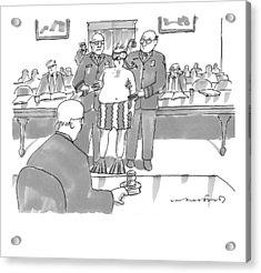 New Yorker July 6th, 2009 Acrylic Print