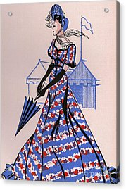Women�s Fashion 1930s 1939 1930s Uk Acrylic Print by The Advertising Archives