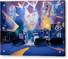 Acrylic Print featuring the drawing 20 Years Later by Joshua Morton