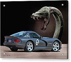 2002 Dodge Viper Acrylic Print