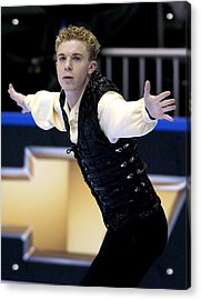 2004 State Farm U. S. Figure Skating Championships - Men's Short Program Acrylic Print by Al Messerschmidt
