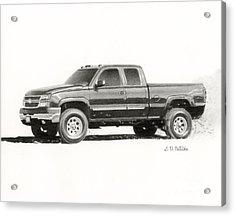 2006 Chevy Silverado 2500 Hd Acrylic Print