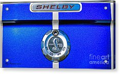 Acrylic Print featuring the photograph 2006 Shelby Mustang Gt by Trey Foerster