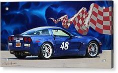2007 Z06 Corvette Acrylic Print