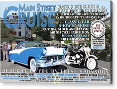 2009 Main Cruise Poster Acrylic Print