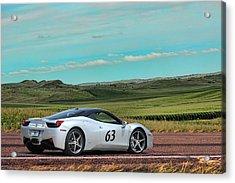2010 Ferrari Acrylic Print