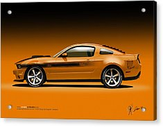 2011 Ford Twister Mustang Acrylic Print