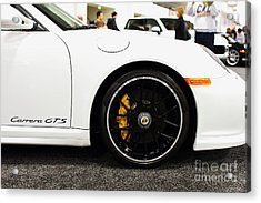 2012 Porsche 911 Carrera Gt 7d9630 Acrylic Print by Wingsdomain Art and Photography