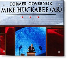 2012 Republican National Convention: Day 3 Acrylic Print by Mark Wilson