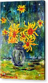 2012 Sunflowers 4 Acrylic Print