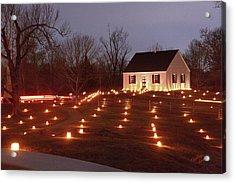 2013 Antietam - Dunker Church Acrylic Print by Judi Quelland