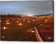 Acrylic Print featuring the photograph 2013 Antietam Near The Cornfield by Judi Quelland