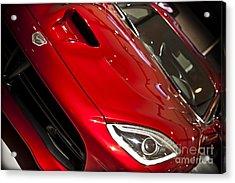 2013 Dodge Viper Srt Acrylic Print by Kamil Swiatek