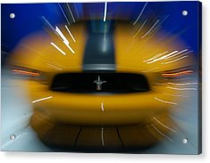 2013 Ford Mustang Acrylic Print