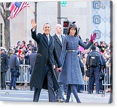 2013 Inaugural Parade Acrylic Print by Ava Reaves