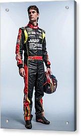 2013 Nascar Sprint Cup Series Stylized Acrylic Print by Nick Laham