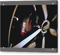 2014 Audi Rs7 Brake And Wheel Acrylic Print