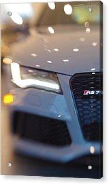 2014 Audi Rs7 Nardo Grey Acrylic Print