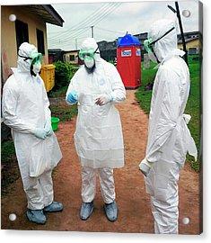 2014 Ebola Virus Disease Outbreak Acrylic Print by Cdc