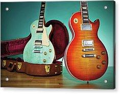 2014 Gibson Les Paul Guitars Acrylic Print