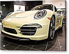 2014 Porsche 911 50th Front Acrylic Print