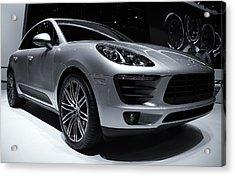 2014 Porsche Macan Acrylic Print by Rachel Cohen