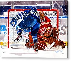 2014 Winter Classic Acrylic Print by Dave Olsen