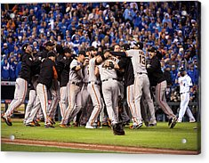 2014 World Series Game 7 San Francisco Acrylic Print