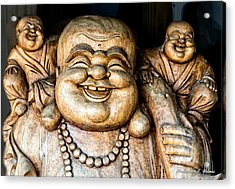 Smiles Acrylic Print by Christopher Holmes