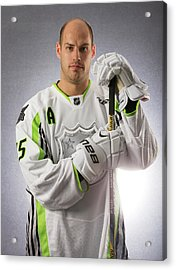 2015 Honda Nhl All-star Portraits Acrylic Print by Gregory Shamus