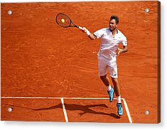 2018 French Open - Day Two Acrylic Print by Cameron Spencer