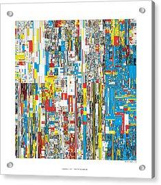 20244 Digits Of Pi Acrylic Print by Martin Krzywinski