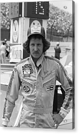 Dale Earnhardt Acrylic Print by Retro Images Archive