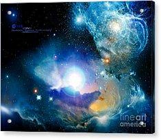 Hubble Acrylic Print