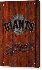 San Francisco Giants Acrylic Print by Joe Hamilton