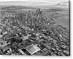 Seattle Acrylic Print by Paul Fell