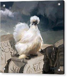 21. Silkie Akropolis Acrylic Print