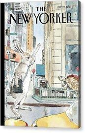 New Yorker September 22nd, 2008 Acrylic Print by Barry Blitt
