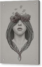 214 Acrylic Print by Diego Fernandez