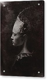Secret Acrylic Print by Victor Slepushkin