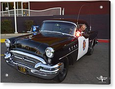 2150 To Headquarters Acrylic Print by Tommy Anderson